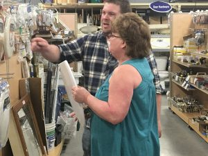 Habitat ReStore customer